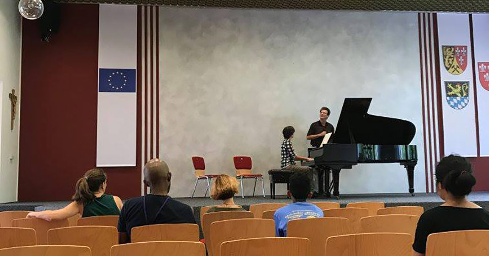 summer music camp piano