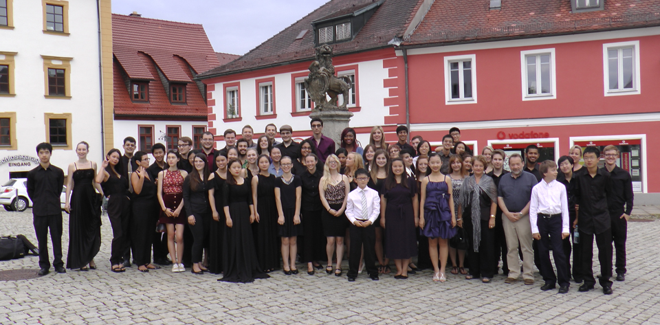 classical music festival group photo 2015